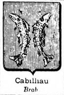 Cabilliau Coat of Arms / Family Crest 0