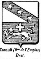 Cacault Coat of Arms / Family Crest 0