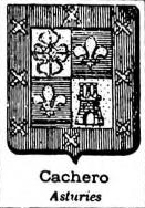 Cachero Coat of Arms / Family Crest 1