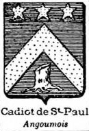 Cadiot Coat of Arms / Family Crest 0