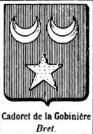 Cadoret Coat of Arms / Family Crest 2