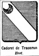 Cadoret Coat of Arms / Family Crest 3