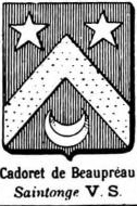 Cadoret Coat of Arms / Family Crest 0