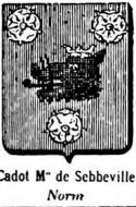 Cadot Coat of Arms / Family Crest 1