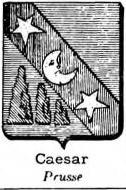 Caesar Coat of Arms / Family Crest 2