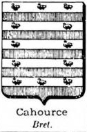 Cahource Coat of Arms / Family Crest 0