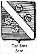 Caillou Coat of Arms / Family Crest 0