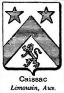 Caissac Coat of Arms / Family Crest 0