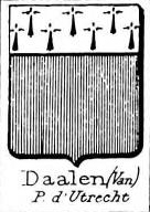 Daalen Coat of Arms / Family Crest 1