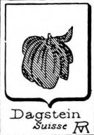 Dagstein Coat of Arms / Family Crest 0