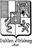 Dahlen Coat of Arms / Family Crest 2