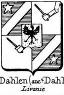 Dahlen Coat of Arms / Family Crest 1