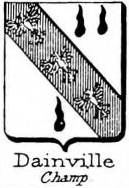 Dainville Coat of Arms / Family Crest 0