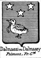 Dalmassi Coat of Arms / Family Crest 0