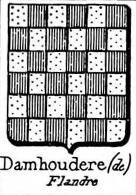 Damhoudere Coat of Arms / Family Crest 0