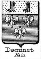 Daminet Coat of Arms / Family Crest 0