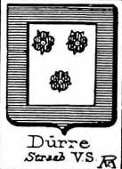 Durre Coat of Arms / Family Crest 2