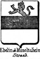 Ebelin Coat of Arms / Family Crest 1