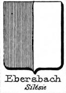 Ebersbach Coat of Arms / Family Crest 3