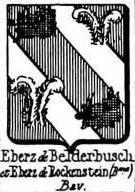 Eberz Coat of Arms / Family Crest 1