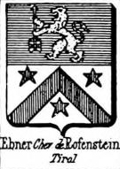 Ebner Coat of Arms / Family Crest 9