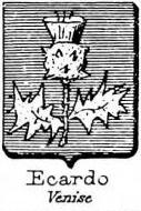 Ecardo Coat of Arms / Family Crest 0