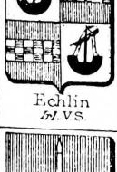 Echlin Coat of Arms / Family Crest 4