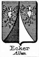 Ecker Coat of Arms / Family Crest 5