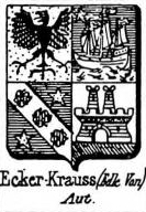 Ecker Coat of Arms / Family Crest 11
