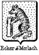 Ecker Coat of Arms / Family Crest 12