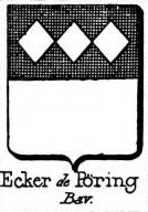 Ecker Coat of Arms / Family Crest 13