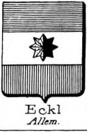 Eckl Coat of Arms / Family Crest 0