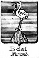 Edel Coat of Arms / Family Crest 2