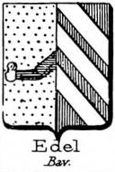 Edel Coat of Arms / Family Crest 3