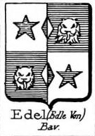 Edel Coat of Arms / Family Crest 4