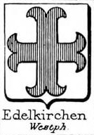 Edelkirchen Coat of Arms / Family Crest 1