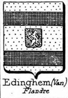 Edinghem Coat of Arms / Family Crest 0