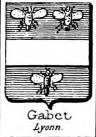 Gabet Coat of Arms / Family Crest 0