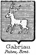 Gabriau Coat of Arms / Family Crest 0