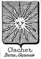 Gachet Coat of Arms / Family Crest 1