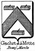 Gachet Coat of Arms / Family Crest 2