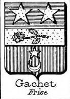 Gachet Coat of Arms / Family Crest 0