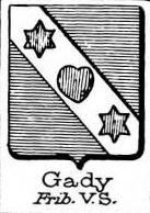 Gady Coat of Arms / Family Crest 0