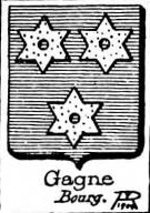Gagne Coat of Arms / Family Crest 0