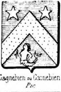 Gagnebien Coat of Arms / Family Crest 0