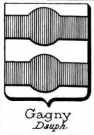Gagny Coat of Arms / Family Crest 0