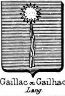 Gaillac Coat of Arms / Family Crest 0