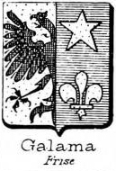 Galama Coat of Arms / Family Crest 2