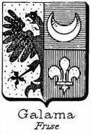 Galama Coat of Arms / Family Crest 3