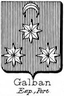 Galban Coat of Arms / Family Crest 0